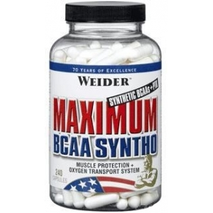 Weider Maximum BCAA Syntho (240капс)