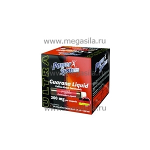 Guarana Liquid (Power System) 20 амп