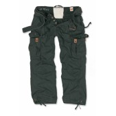 Брюки SURPLUS PREMIUM VINTAGE TROUSERS, черные