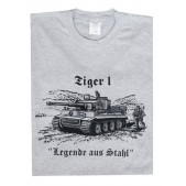 Футболка Tiger 1 Legend of Steel, Fruit of the Loom