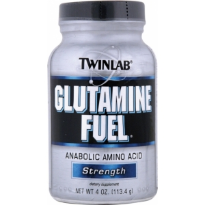 Twinlab Glutamine Fuel Powder (113,4г)