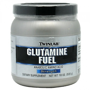 Twinlab Glutamine Fuel Powder (500г)