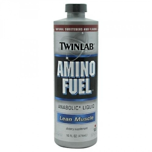 Twinlab Amino Fuel Liquid 16oz fruit (474мл)
